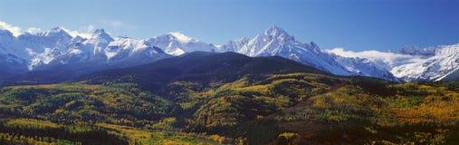 Wilson Peak, San Juan National Forest, le Colorado Images libres de droits
