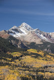 Wilson Peak in Uncompahgre National Forest Stock Photos