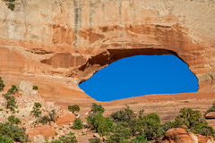 Wilson's Arch near Moab Utah Royalty Free Stock Image