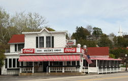 Wilson's Old Fashioned Ice Cream Parlor stock image