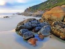 wilsons вискиа promontory пляжа залива Стоковое Изображение RF