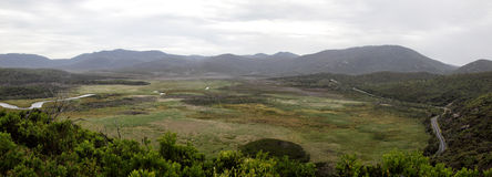 Wilsons Promontory Panorama Royalty Free Stock Images