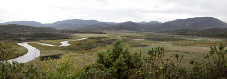 Wilsons Promontory Panorama Royalty Free Stock Photo