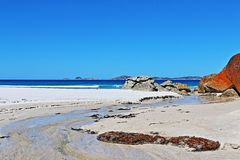 Wilsons Promontory Squeaky Beach Tidal Creek Royalty Free Stock Image
