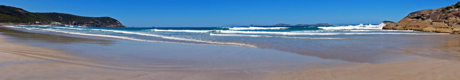 Wilsons Promontory Squeaky Beach. View of surf Stock Images