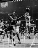 Wilt Chamberlain, los Philadelphia 76ers Fotografía de archivo libre de regalías