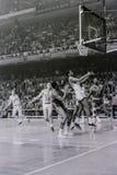 Wilt Chamberlain Philadelphia 76ers Arkivfoto