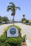 Wilton Manors Entrance Sign Fotografie Stock