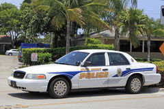 Wilton Manors Police Car Stock Photography