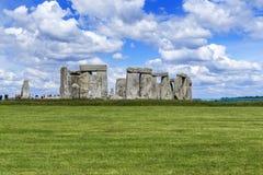 Ancient Stonehenge, UK stock image