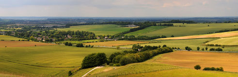 Wiltshire downs Stock Images