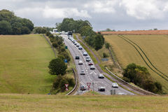 Wiltshire England Road Stock Photos
