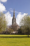 Wiltshire spire Royalty Free Stock Photography