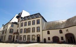 Wiltz slott, Luxembourg, Europa royaltyfri fotografi