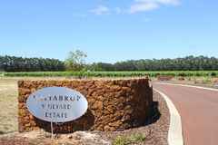 Wilyabrup Vineyard Estate in Margaret River, Australia Stock Photos