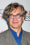 Wim Wenders. LOS ANGELES - NOV 5: Wim Wenders arrives at the AFI FEST 2011 Gala Screening of Pina at Grauman's Chinese Theater on November 5, 2011 in Los Angeles royalty free stock photography