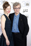 Wim Wenders and Donata Wenders Royalty Free Stock Image