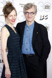 Wim Wenders and Donata Wenders Royalty Free Stock Photos