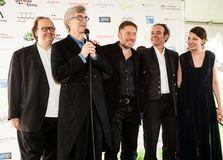 2015 German Oscar Nominees Reception. Wim Wenders at the German Films and the Consulate General of the Federal Republic Of Germany`s German Oscar nominees Stock Photography