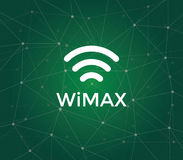 Wimax is an acronym for Worldwide Interoperability for Microwave Access - a technology standard for long-range wireless. Networking vector royalty free illustration