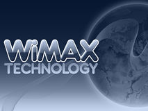 Wimax technology Stock Image