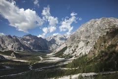 Wimbachgries nelle alpi di Berchtesgaden Fotografia Stock Libera da Diritti
