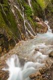 Wimbachklamm gorge. Near Berchtesgaden, Germany Royalty Free Stock Photography