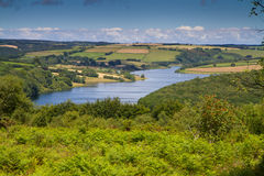 Wimbleball Lake Exmoor National Park Somerset. It is well known for its activity centre and is popular for walking, camping, birdwatching, angling, sailing Stock Images