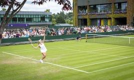 Wimbledon所有英国网球冠军2016年,伦敦- 1 图库摄影
