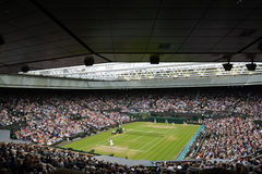 Wimbledon 2012 men's semi final Stock Photos