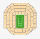 Wimbledon 1. centre court plan Stock Image