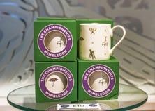 Wimbledon souvenir cup Royalty Free Stock Photo
