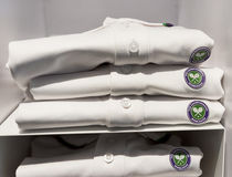 Wimbledon t-shirts Stock Images