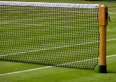 Wimbledon tennis net Stock Photo