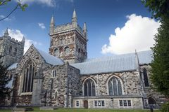 wimborne монастырской церкви церков Стоковые Фотографии RF