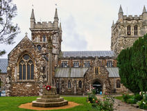 Wimborne Minster church Royalty Free Stock Photos