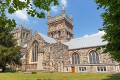 Wimborne Minster church Dorset England Stock Images