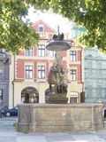Wimmer`s Fountainn, Prague Royalty Free Stock Photo