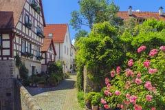 Wimpfen mau, Alemanha Foto de Stock