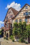 Wimpfen mau, Alemanha Fotos de Stock
