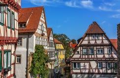 Wimpfen ruim, Alemanha Fotos de Stock Royalty Free