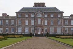 Wimpole大厅 免版税库存照片