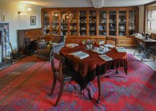 Wimpole Hall House Keepers Room stock photography