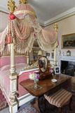 Wimpole Hall Lord Chancellors Bedroom fotografia de stock royalty free
