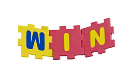 Win Alfabet Stock Foto