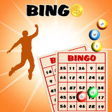Win at bingo Royalty Free Stock Images