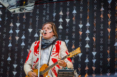 Win Butler of Arcade Fire Royalty Free Stock Image