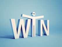 Win concept Royalty Free Stock Photo