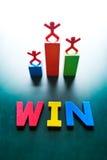 Win concept stock fotografie