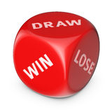 Win or Draw or Lose Stock Photo